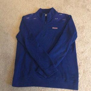 Vineyard Vines blue shep shirt.